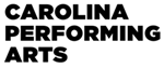Carolina Performing Arts in Black Text on White Background