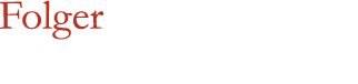 Folger Shakespeare Library � Advancing knowledge & the arts