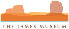 The James Museum of Western and Wildlife Art logo